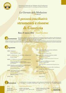 La Giornata della Mediazione 2012