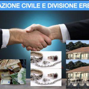 Mediazione civile:nell'ipotesi di divisione ereditaria, all'organismo di mediazione spetta l'indennità anche se si è in presenza  di interessi coincidenti